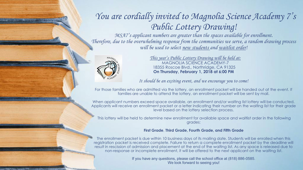 MPS Lottery Procedures 2018-2019 School Year - News and